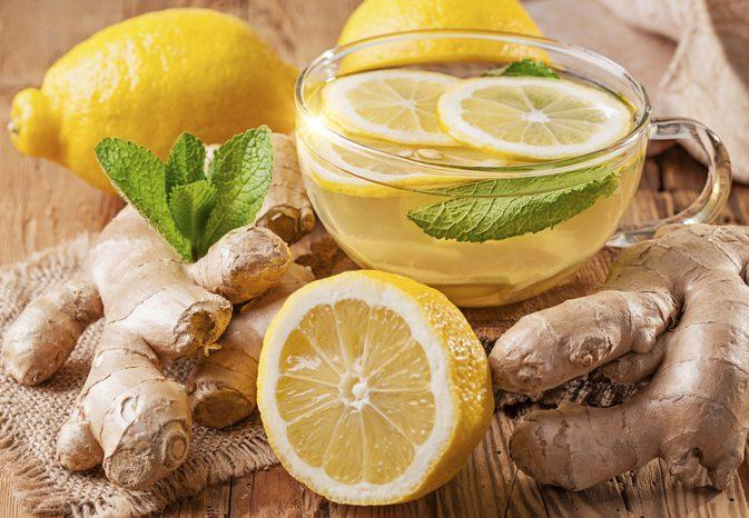 Ginger and Lemon cleanser