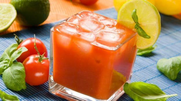 Tomato and Lime drink