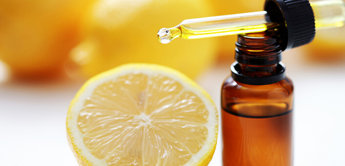 Lemon oil for acid reflux